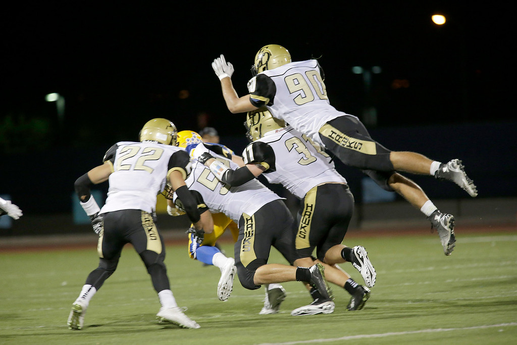 El Dorado vs Valencia at Bradford Stadium in Placentia, California on September 19, 2014. Photo:Chris Anderson/114photography