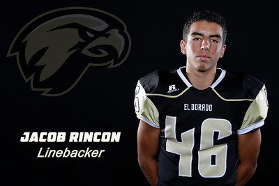 El Dorado Football player portraits at El Dorado High School in Placentia, California on August 22, 2015. Photo: Chris Anderson/114photography