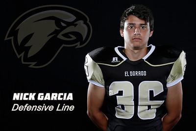 El Dorado Football player portraits at El Dorado High School in Placentia, California on August 22, 2015. Photo: Chris Anderson/114photography