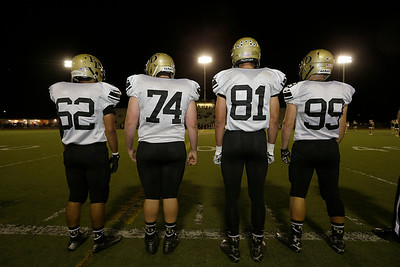 at Fred Kelly Stadium in Orange, California on October 29, 2015. Photo: Chris Anderson/114photography for EL Dorado High School Football