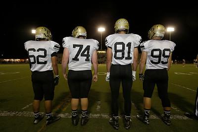 at Fred Kelly Stadium in Orange, California on October 29, 2015. Photo: Chris Anderson/114photography for EL Dorado High School Football