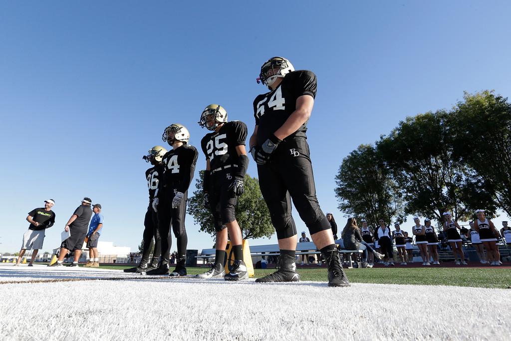 El Dorado vs El Modena Freshmant Glen Hastings Field in Placentia, California on November 5, 2015. Photo: Chris Anderson/114Photography
