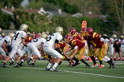 at Esperanza High School in Anaheim, California on October 15, 2015. Photo: Chris Anderson/114photography for EL Dorado High School Football