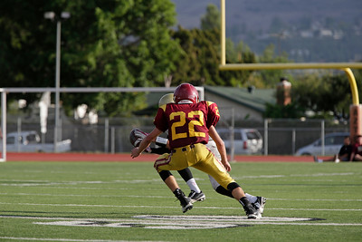 at Esperanza High School in Anaheim, California on October 15, 2015. Photo: Chris Anderson/114photography for EL Dorado High School Football
