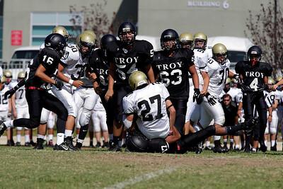 El Dorado vs Troy at Fullerton HS Stadium in Fullerton, California on September 3, 2015. Photo: Chris Anderson/114photography