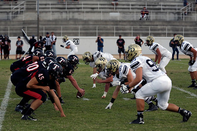 El Dorado vs Troy at Fullerton HS Stadium in Fullerton, California on September 3, 2015. Photo: Chris Anderson/114photography