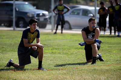 Passing Tournament and Lineman Challenge at Santa Fe High School in Sante Fe Springs, California on July 11, 2015. Photo:Chris Anderson/114photography