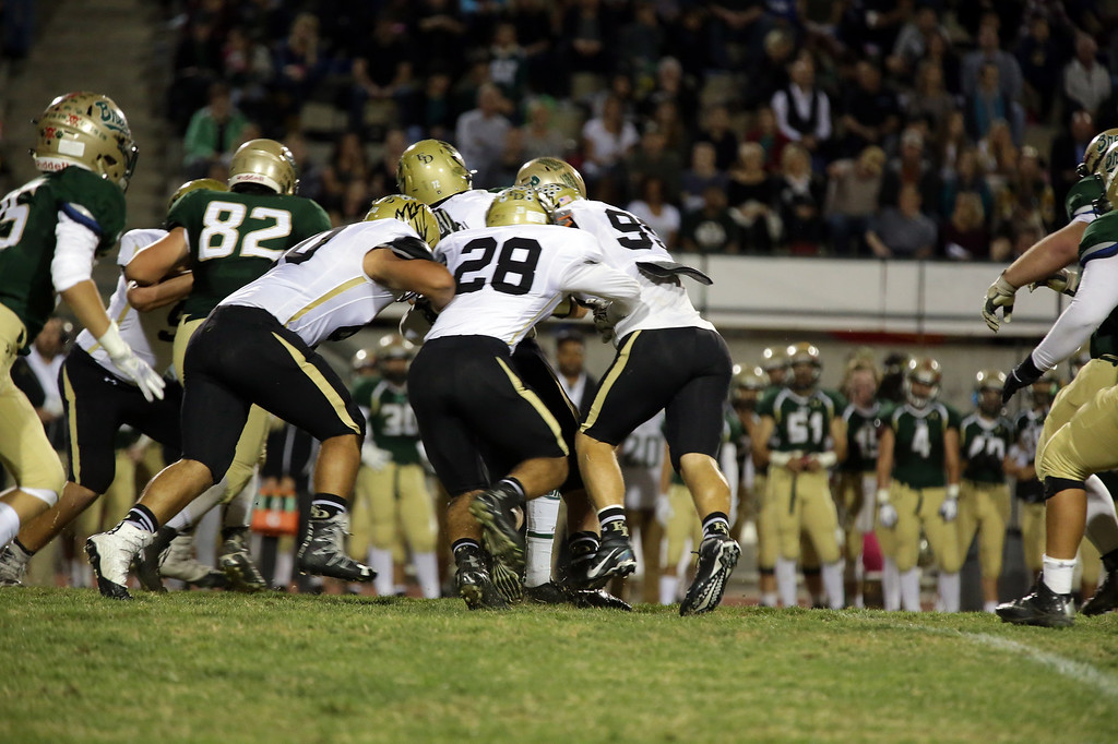 El Dorado vs Brea Olinda at Brea Olinda High School in Brea, California on October 28, 2016. Photo: Chris Anderson/114photography