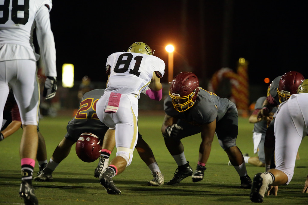 El Dorado vs El Modena at Fred Kelly Stadium in Orange, California on October 20, 2016. Photo: Chris Anderson/114photography