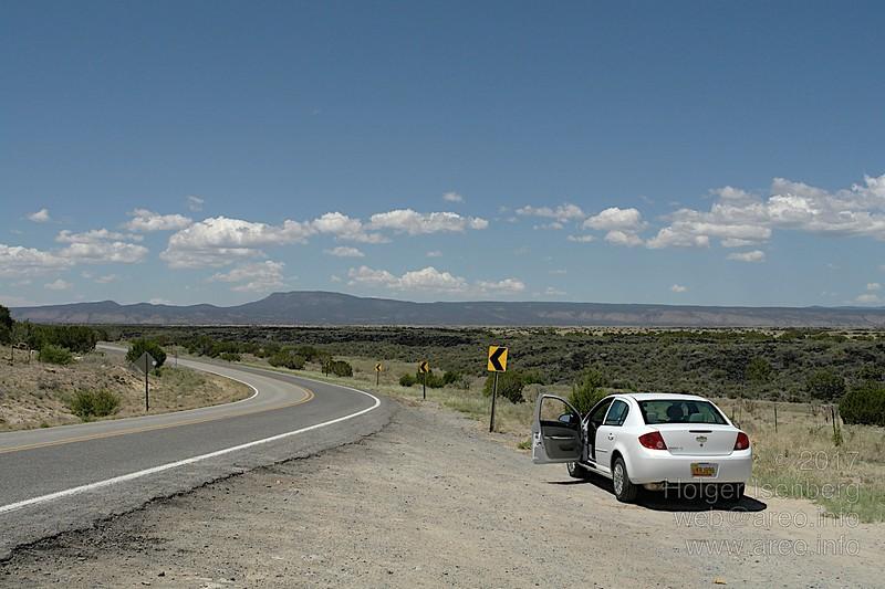 Fahrt nach El Malpais