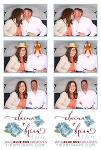 Congrats to Elaina and Brian! We had such a great time snapign pics at your wedding and we loved how much your guests loved the bus! To see more awesome photos from this amazing day go to: https://www.findmysnaps.com/Elaina-Brian/  Want the PhotoSwagon for your next event? Check us out at BlueBusCreatives.com
