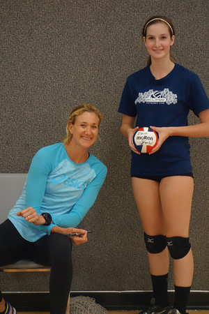 Elaine - Volleyball Clinic with Kerri Walsh, 4/2014