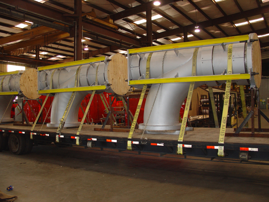 36 inch pressure balanced expansion joints ready for shipping
