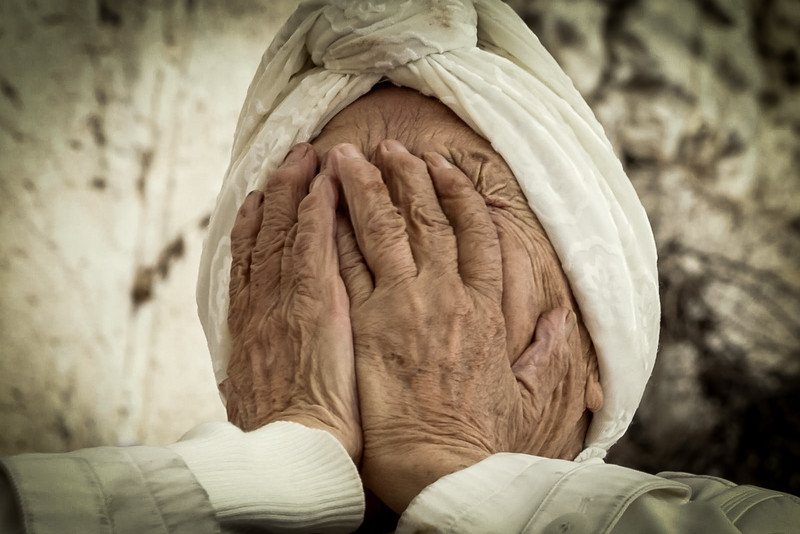 old people at kotel