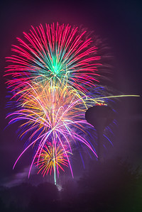 Eldon Fourth of July Fireworks - 2016-1-16