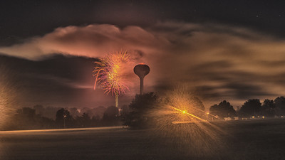 Eldon Fourth of July Fireworks - 2016-1-27