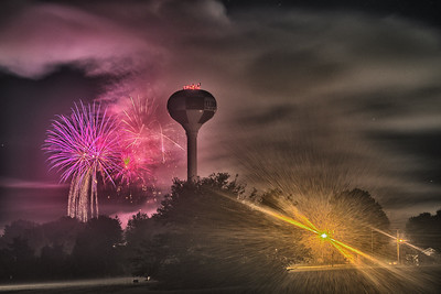 Eldon Fourth of July Fireworks - 2016-1-25