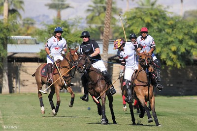 4 Goal: Coachella Valley Officer's Cup Tournament games