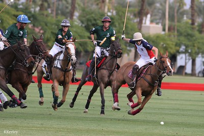 8 Goal: Coachella Valley Officer's Cup Tournament games