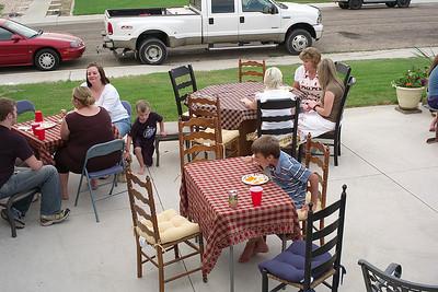 Family Dinner - July 2007