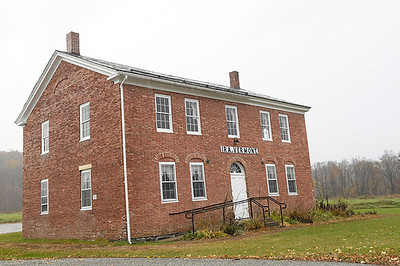 The town offices of Ira, Vermont, located about 4 miles to the West of Middletown Springs.