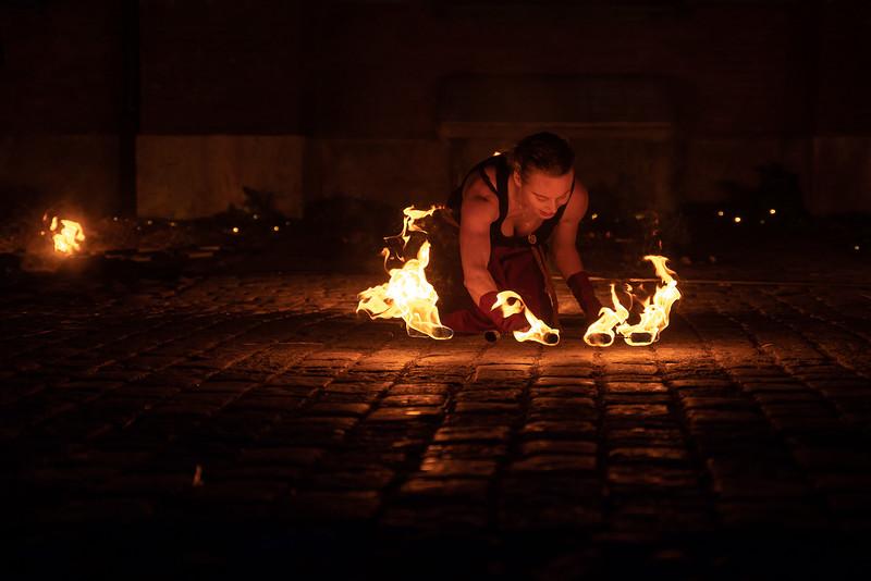 Summoning the fire gods