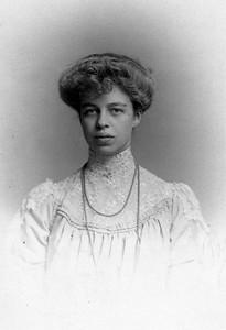 Eleanor Roosevelt, 1904. Franklin D. Roosevelt Library archives