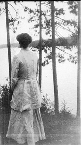 Eleanor - Camp Elsinore - the Adirondacks 1903. Franklin D. Roosevelt Library archives