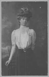 Eleanor Roosevelt, 1898. Franklin D. Roosevelt Library archives.