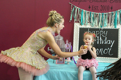 Eleanor's Princess Ballerinas Party