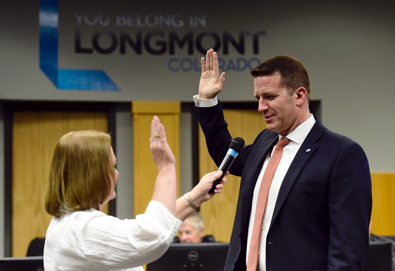 Longmont City Council Swear In