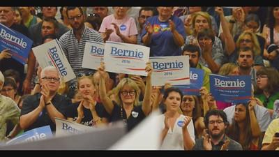 SLIDESHOW - Bernie Sanders at Univ of Denver