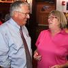 Lynn, Ma. 9-12-17. Kathy Collins congratulates State Senator Thomas McGee on his primary win in the Lynn mayorial race.
