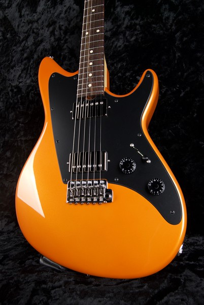 ElectraJet #3634, Metallic Sunburst Orange Pearl, Grosh H/H pickups 302/327