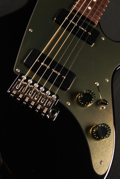 ElectraJet Custom, Black, G90 Pickups