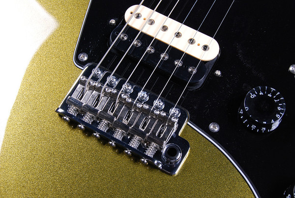 ElectraJet Custom, Black Gold Metallic, HH Pickups