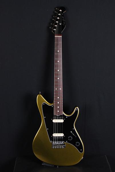 Don Grosh ElectraJet Custom in Black Gold Metallic, HH Pickups