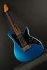 Don Grosh ElectraJet Custom in Blue Over Black Metallic, G90/H Pickups