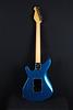 Don Grosh ElectraJet Custom in Blue Over Black Metallic, G90 Pickups