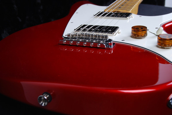 ElectraJet Custom, Candy Apple Red, HH Pickups