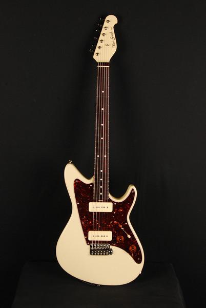 Don Grosh ElectraJet Custom in Creamy White, G90 Pickups