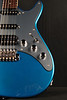 Don Grosh ElectraJet Custom in Deep Aqua Metallic Over Black, SSH Pickups