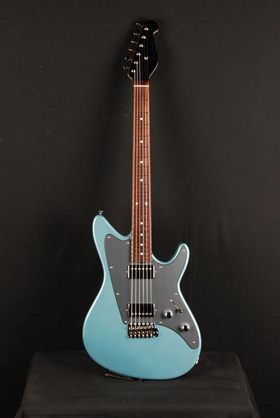 Don Grosh ElectraJet Custom in Glacier Blue Metallic, HH Pickups