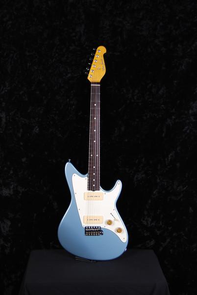 Don Grosh ElectraJet Custom in Ice Blue Metallic, G90 Pickups
