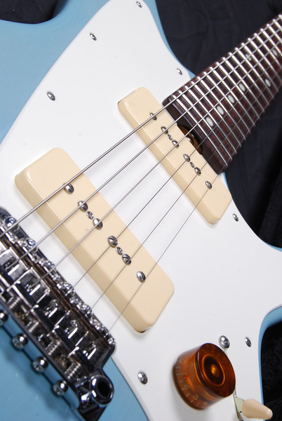 ElectraJet Custom, Mary Kay Daphne Blue, G90 Pickups