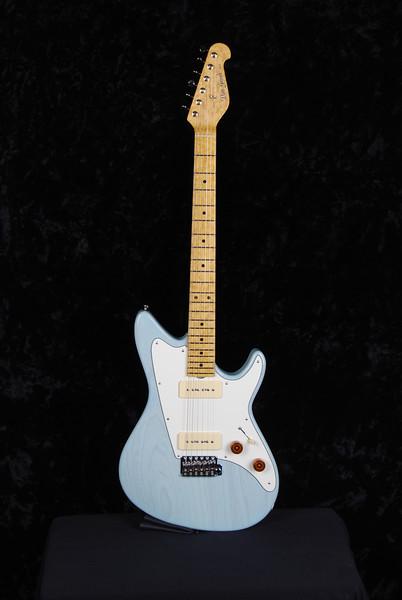 Don Grosh ElectraJet Custom in Mary Kay Sonic Blue, G90 Pickups