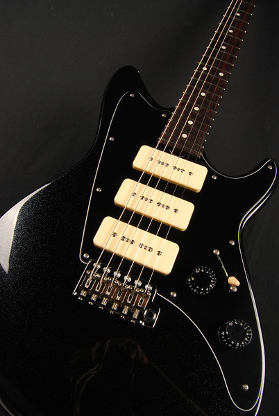 ElectraJet Custom, Mini Black Sparkle, G90 Pickups
