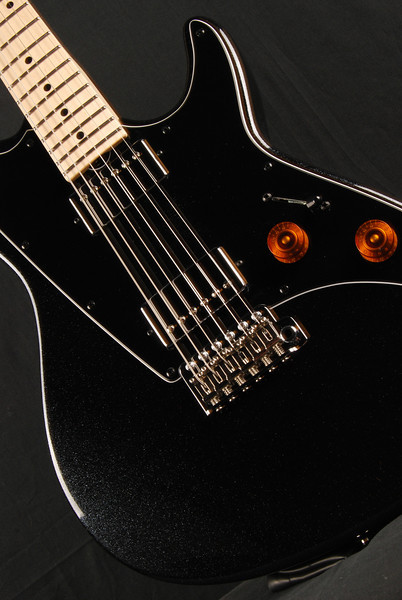ElectraJet Custom, Mini Black Sparkle, HH Pickups