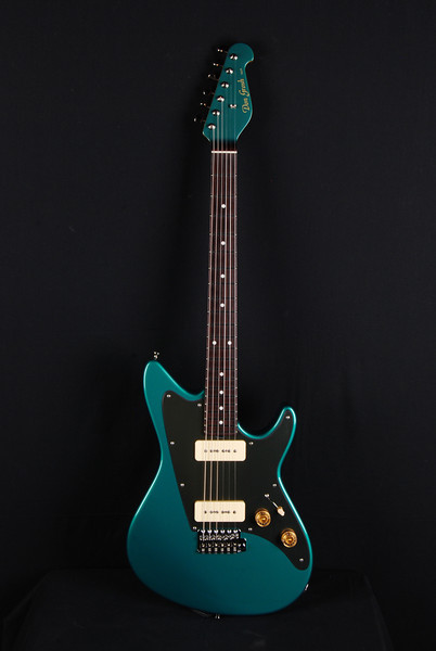 Don Grosh ElectraJet Custom in Sherwood Green, G90 Pickups