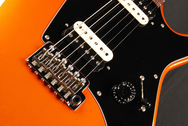 ElectraJet Custom, Sunburst Orange Pearl, HH Pickups